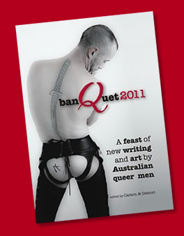 banQuet 2011: Writing by Queer Men Anthology Cover