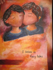 I Believe in Fairy Tales by Fei Mok (2011)