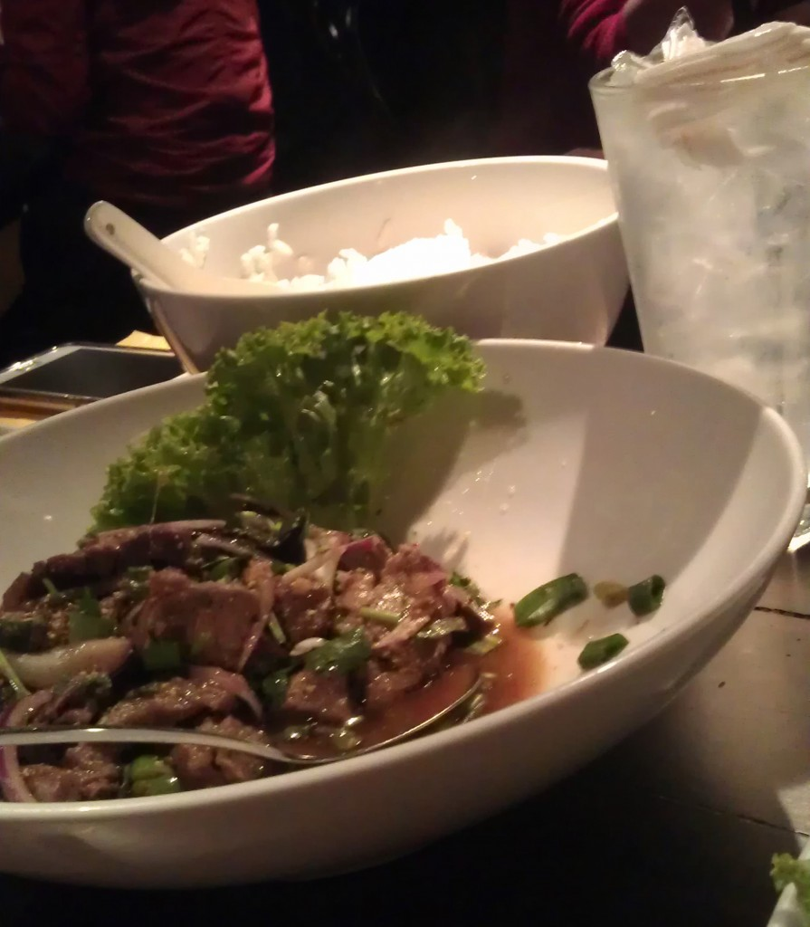 Beef Salad at Chat Thai