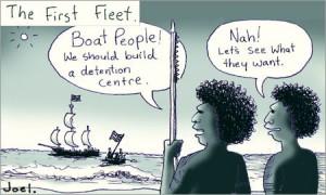 Cartoon by Joel Tarling