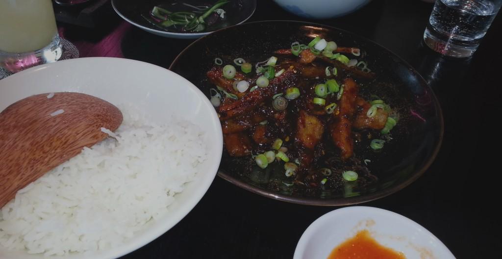 Ye Heung Ke Ze (Fragrant Fish Eggplant)