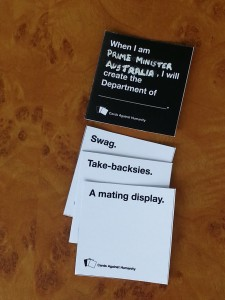 Cards Against Humanity makes a great travel game for things like ferries and planes. But that's probably not all you want to do on holiday, right?
