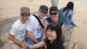 Jared Kris, Matt and Amy (plus some randoms) on Cheung Chau Beach. If you're willing to pay top dollar for a personal trip around HK, get in touch and I can try to persuade Amy to take you around.