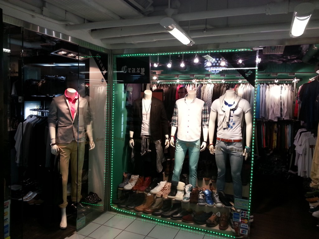 The best place for men's Urban Fashion in Hong Kong--according to Matthew.