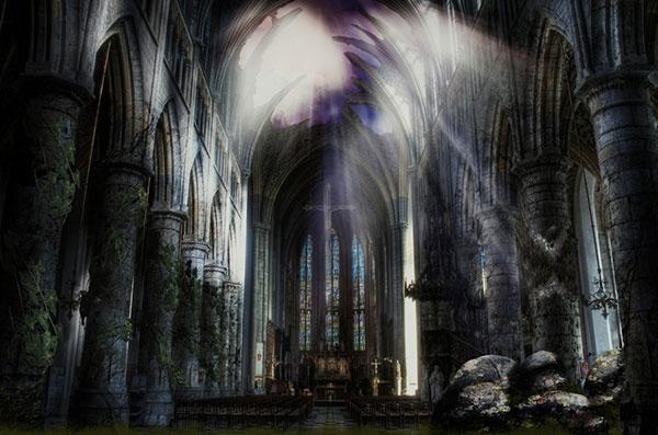 Dead Cathedral - Art by Metadragonart